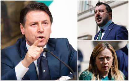 Mes, Conte allo scontro totale con Meloni e Salvini