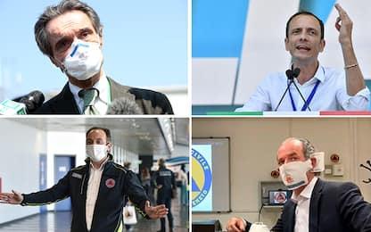 Coronavirus, fase 2 da 4 maggio: lo chiedono governatori da Nord a Sud