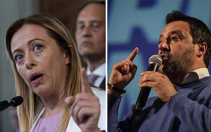 Sondaggi politici, Supermedia YouTrend per Agi: cala Lega, sale FdI