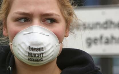 Smog, l'inquinamento dei veicoli diesel e i rischi per il cuore