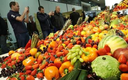 Coldiretti: frutta e verdura rappresentano quasi un quarto della spesa