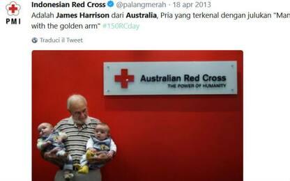 """Ha salvato 2 mln neonati, va in pensione donatore di sangue """"speciale"""""""