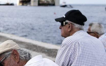 Ai portoghesi la maglia nera dell'invecchiamento in Europa