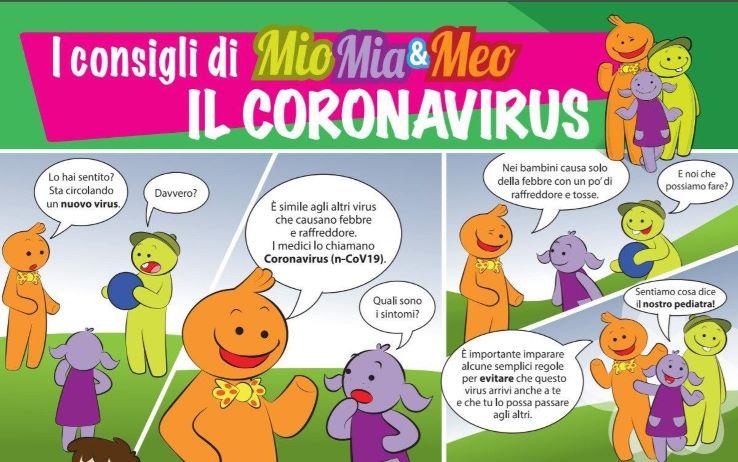 Coronavirus Un Fumetto Spiega Le Regole Di Prevenzione Ai Bambini Sky Tg24