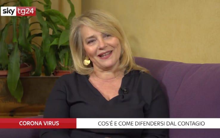 Coronavirus Come Difendersi Dal Contagio Le Risposte Dell Esperta Roberta Villa Video Sky Tg24