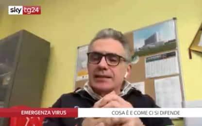 Coronavirus, come difendersi? Risponde il virologo Pregliasco. VIDEO