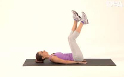 Sei esercizi per le gambe da fare a casa. VIDEO