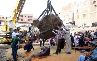 Egitto, la statua ritrovata al Cairo non è di Ramses II