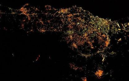 Etna, l'eruzione fotografata dallo spazio
