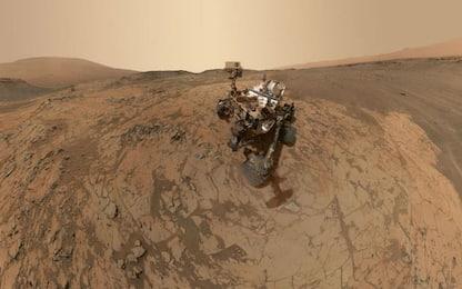 Marte, Curiosity ha rilevato grandi quantità di metano sul pianeta