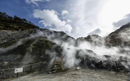 Campi Flegrei, le fumarole aiutano a controllare il vulcano