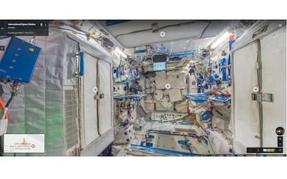 Google Street View vola in orbita: ecco dove vivrà Paolo Nespoli