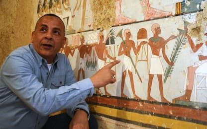 Egitto, scoperte due tombe di 3.500 anni fa a Luxor