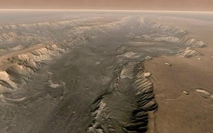 Marte, il sottosuolo è la zona più abitabile: lo studio
