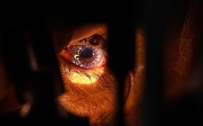 Creato un occhio artificiale in 3D con cellule umane