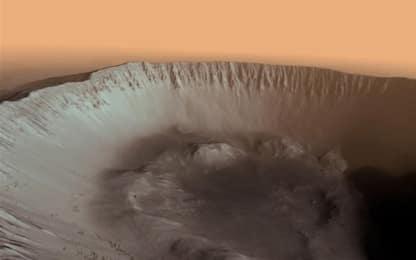 Marte, studio: in passato il Pianeta Rosso era ricoperto di ghiacci