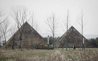 Le piramidi cinesi storte puntavano verso la futura stella polare