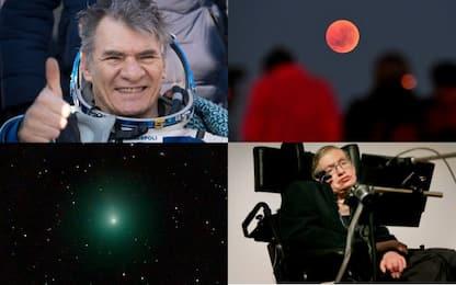 Dall'eclissi del secolo alla Superluna, il 2018 dello spazio