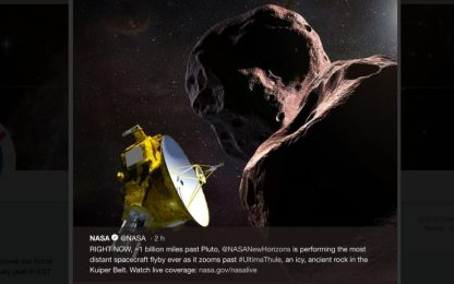 New Horizons sorvola Ultima Thule, il corpo cosmico più lontano