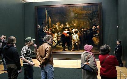 Rembrandt, svelato l'ingrediente segreto con cui rendeva i quadri 3D