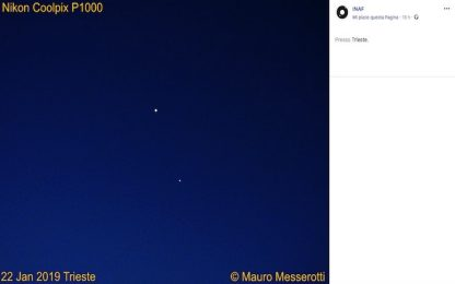 Venere e Giove, i due pianeti vicini nel cielo del mattino: la foto