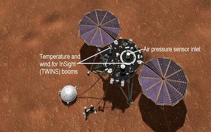 Nasa: che tempo fa su Marte? La sonda InSight lo dirà ogni giorno