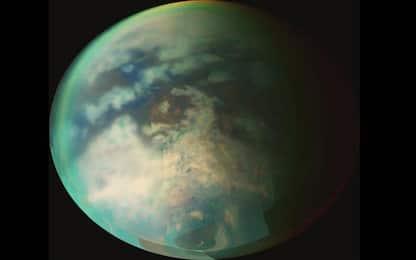Rilevata la presenza di crateri vulcanici ai poli di Titano