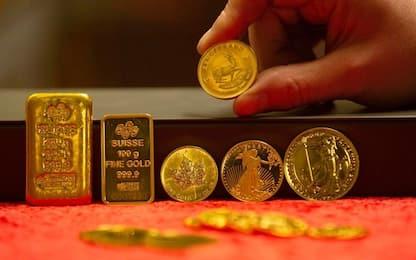 Perché l'oro da fine febbraio ha perso più del 5%