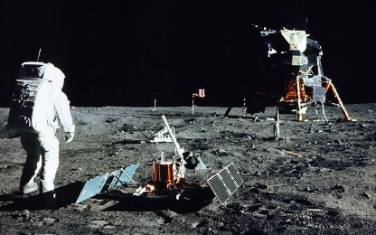 Sbarco sulla Luna, 52 anni fa la missione Apollo 11. FOTO