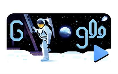 Sbarco sulla Luna, Google dedica doodle al 50° anniversario