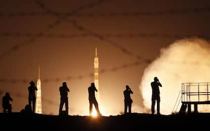 Luca Parmitano, il lancio della Soyuz. FOTO