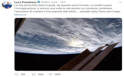 Beyond, AstroLuca: primo scatto della Terra dal suo ritorno in orbita