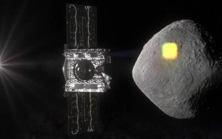 La sonda della Nasa verso l'asteroide Bennu