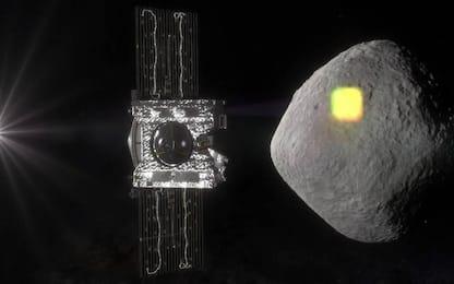 La sonda Nasa Osiris Rex mai così vicina all'asteroide Bennu: solo 40m