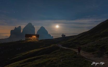 Luna e Giove accanto alle Dolomiti: la Nasa premia altra foto italiana