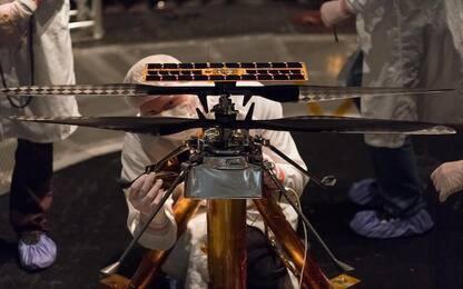 Mars 2020, agganciato al rover l'elicottero che volerà su Marte