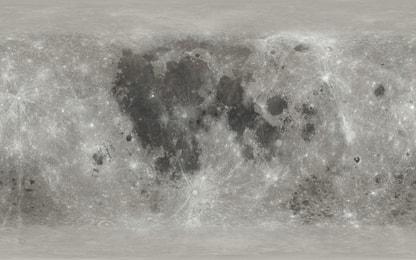 La Luna esplorabile in 3D grazie a una mappa interattiva della Nasa