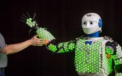 Progettato H-1, primo robot con la pelle sensibile come quella umana