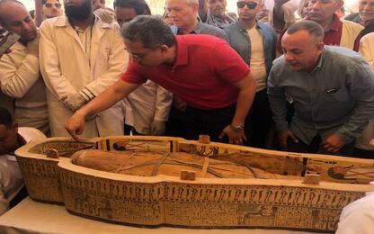 Egitto, i segreti nascosti nelle antiche bare scoperte vicino a Luxor