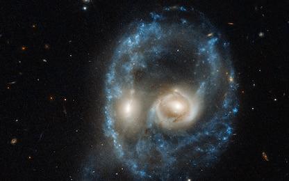 Nasa, una collisione 'spettrale' tra galassie per Halloween. FOTO