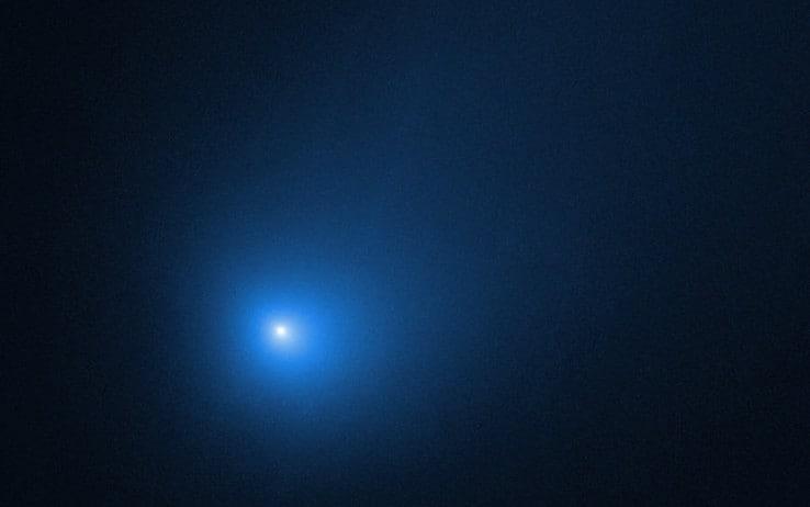 La cometa di Natale Borisov immortalata dopo il 'saluto' al Sole. FOTO