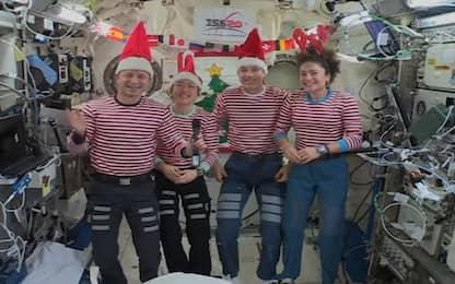 Gli auguri degli astronauti dalla  Stazione Spaziale Internazionale