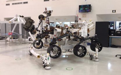 Nasa, il rover Mars 2020 vicino al completamento. VIDEO