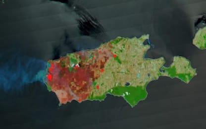 Prima e dopo gli incendi: le immagini dei satelliti sull'Australia