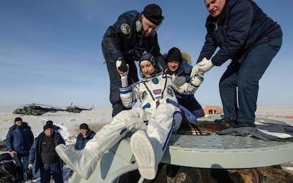 Luca Parmitano è atterrato in Kazakhstan. FOTO
