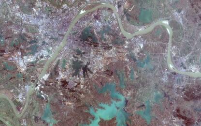 Coronavirus, Wuhan è un deserto nelle foto del satellite