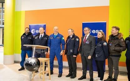 AstroLuca, prima conferenza stampa dopo il rientro a Terra