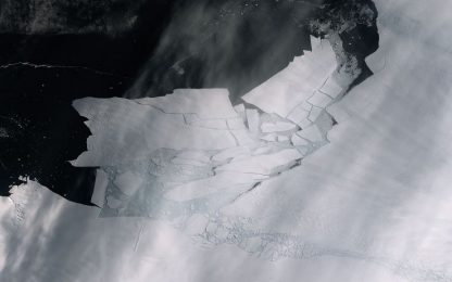In Antartide il distacco di un iceberg grande quanto Malta. VIDEO