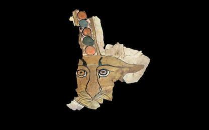 Egitto, scoperto un muso di leopardo dipinto nella necropoli di Assuan