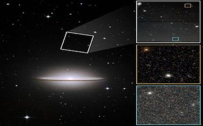 """Il telescopio Hubble ha studiato il passato della galassia """"Sombrero"""""""
